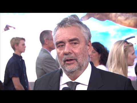 Valerian World Premiere Grauman's Chinese Theatre Luc Besson interview (official video)