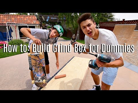 How to Build a Grind Box for DUMMIES by DUMMIES