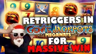 Genie Megaways - INSANE UNLIMITED MULTIPLIER BONUS!!