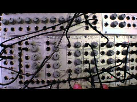 Doepfer A155 Analog/Trigger Sequencer Basics-Notes and Triggers Part Two