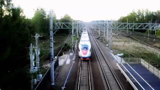 Самый быстрый поезд в России Сапсан / SPR Video(Видеоклип от СПР. Скоростные поезда России https://vk.com/skorost_rail_russ., 2013-06-22T18:14:19.000Z)
