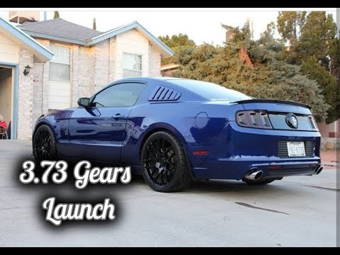 First Launch & Full Throttle with 3.73 Gears on my Mustang