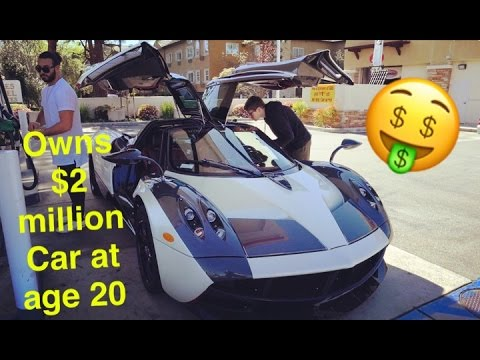 Meet Marc! The Youngest Pagani Owner In The World At 20 Yrs Old