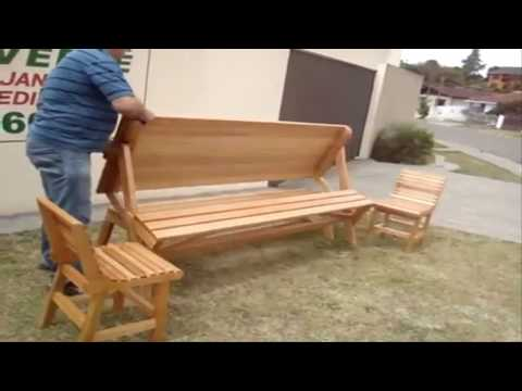 Tools For Working Wood Folding Picnic Table Youtube