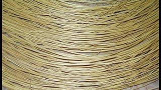 Сбор и подготовка лозы - ивового прута - Collection and preparation of vines - wicker