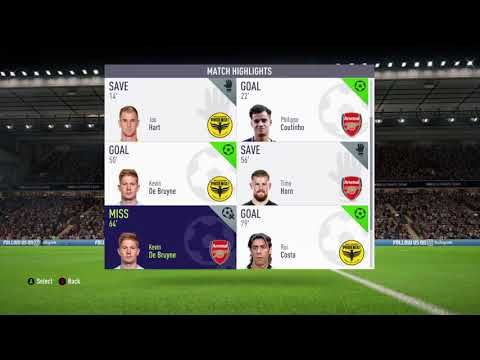 FIFA 18 - KDB long shot