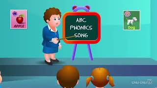 Phonics Song With TWO Words-A for Apple - ABC Alphabet songs with sonunds for children2019