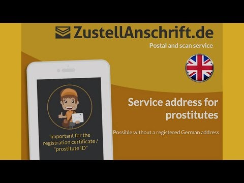 Service address for prostitutes | ZustellAnschrift English