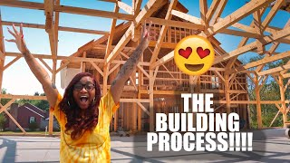 THE BUILDING PROCESS!!!! 🏡