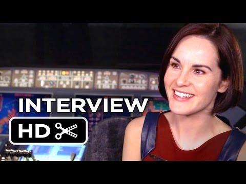 Non-Stop Interview - Michelle Dockery (2014) - Thriller HD