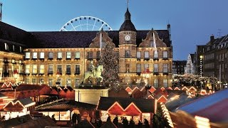 Düsseldorf in Christmas season