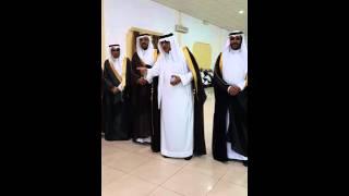 كلمة الدكتور محمد العمري في زواج ابن أخيه عبدالعزيز