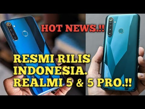 Realme 5 dan 5 Pro resmi rilis di Indonesia mulai 1,9 Jutaan.