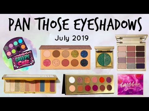 6 New Pans! Pan Those Eyeshadows (Roulette-Style)   6 Month Update thumbnail