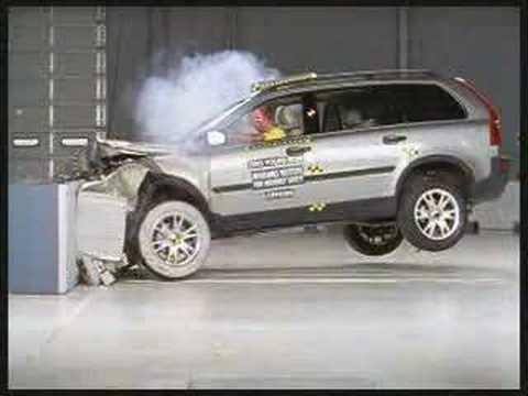 Crash Test Volvo XC90 ncap test  YouTube