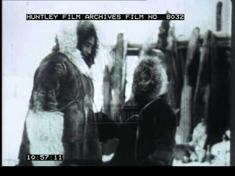The life of Inuit People, 1950's - Film 8032