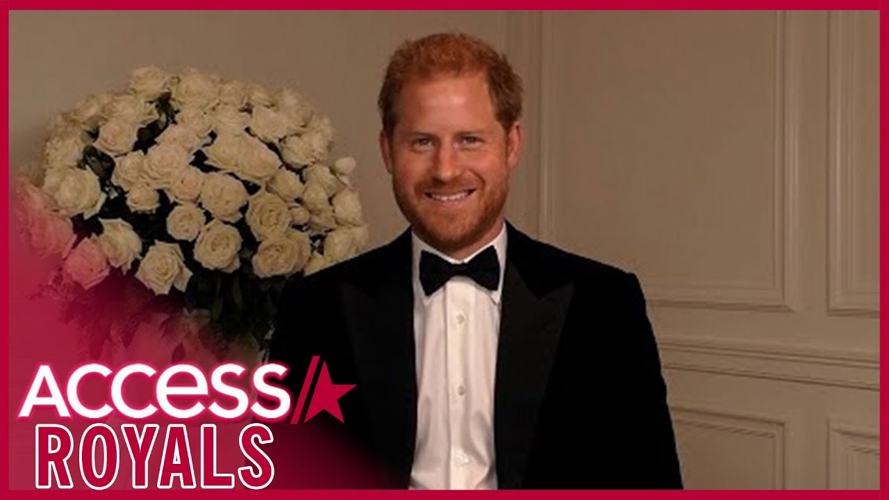 Prince Harry's Covid-19 Vaccine Speech at GQ Men of the Year Awards