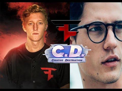 Faze Tfue & Nate Hill Play Creative Destruction