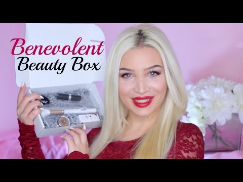 Benevolent Beauty Box Unboxing w/ Swatches!