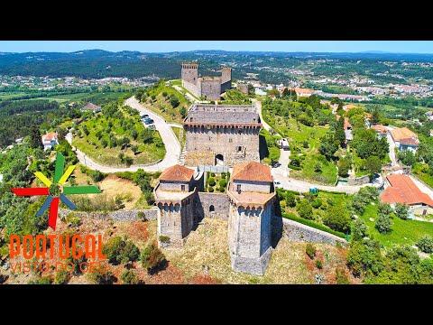 Ourém castle aerial