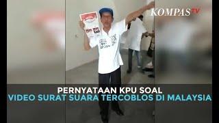 Pernyataan KPU Soal Video Surat Suara Tercoblos di Malaysia