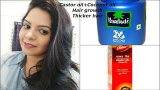 How to use castor oil for hair growth..|castor oil increase hair density..