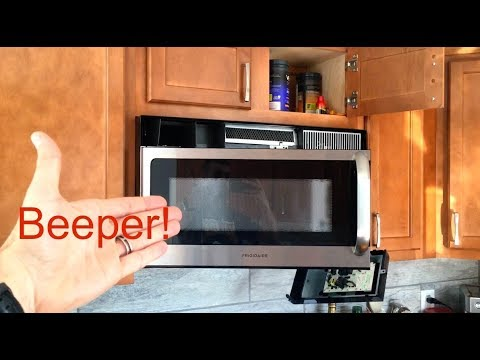 ★★★★★ Turn Off Frigidaire Annoying Microwave Beep - Remove Beeping Noise Maker Instructions & DIY