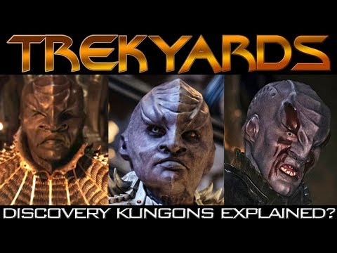Discovery Klingons Explained? - Trekyards Analysis/Review