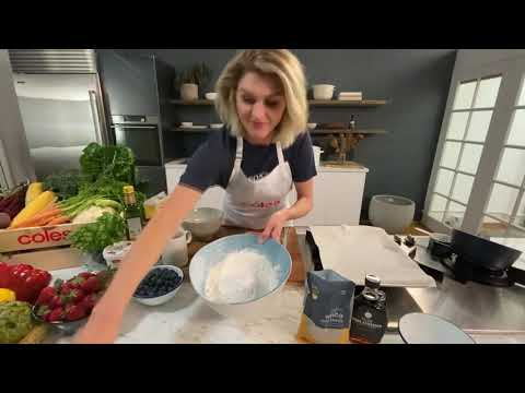 Courtney Roulston - Allergy free scones with quick blueberry chia jam