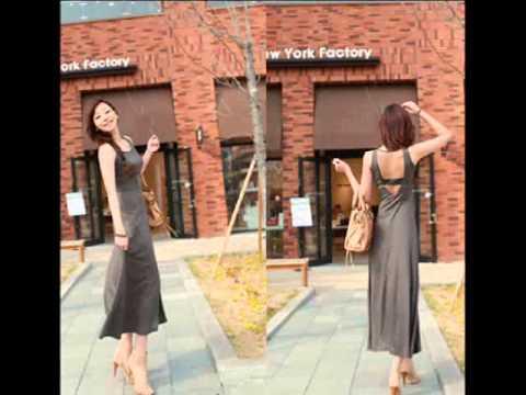 เสื้อผ้าแฟชั่นเกาหลี ชุดเดรสเข้ารูปสวยๆ พร้อมส่ง ฟรีEMS