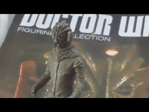 REVIEW,DOCTOR WHO FIGURINE COLLECTION,PART 69,SILURIAN