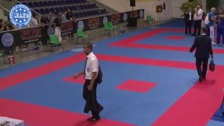Tatami 3,4,5,6. WAKO World Championships 2018