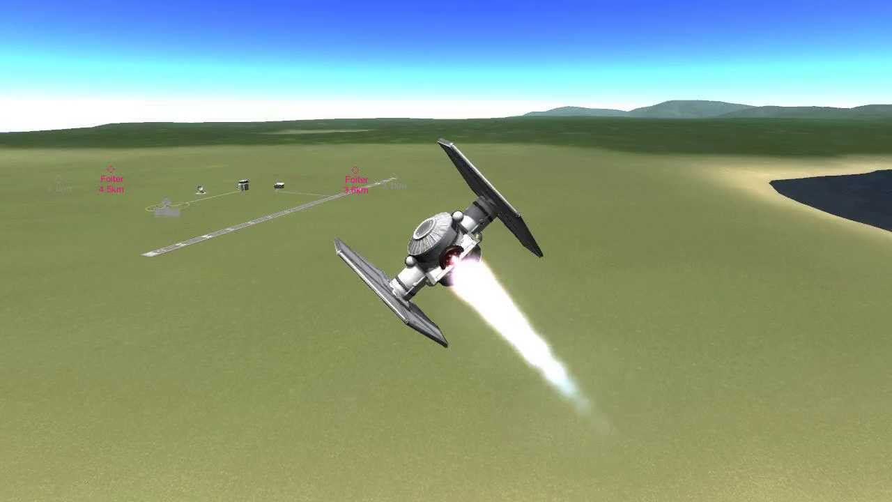 ksp how to make a plane