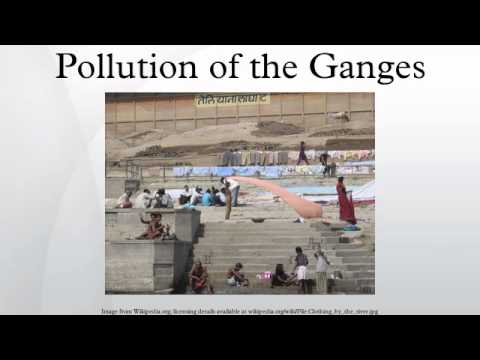 Pollution of the Ganges