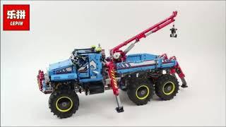 Lepin 20056 the same Lego 42070 Technic Series The Terrain 6X6 Remote Control Truck Set