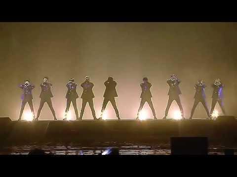 EXO Dubstep Intro Live