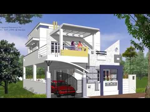 Indian House Design Front View Ideas - YouTube