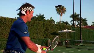 The Easiest Way To His A Wide Slice Serve | Pat Cash Tennis