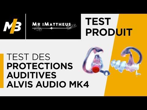Test des protections auditives Alvis Audio MK4