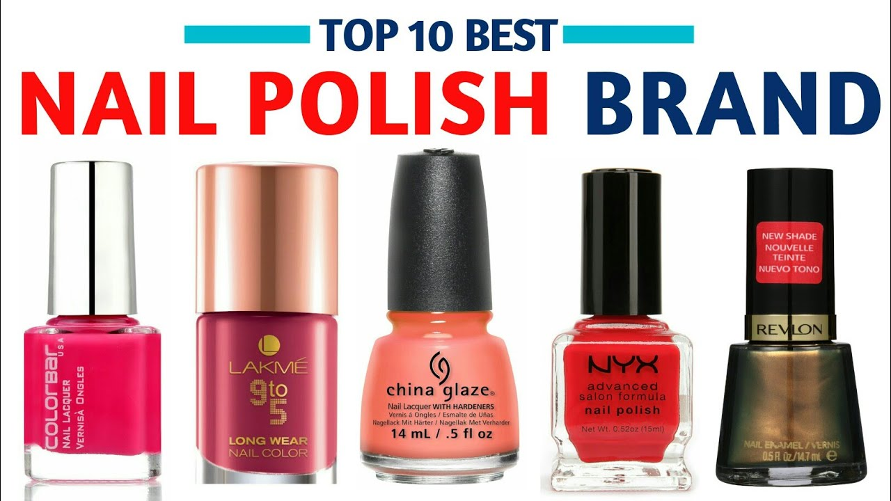 BEST NAIL POLISH BRAND | With Price - YouTube