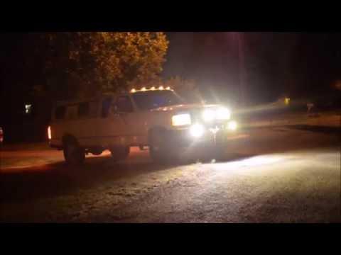 PIAA 520 Spot and 540 Fog Lights Demo
