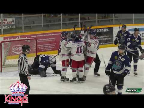 Game 4 March 8th - Prince George Spruce Kings vs Wenatchee Wild