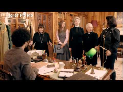Comic Relief 2015 - The Vicar of Dibley (Jennifer Saunders Surprise Entry)