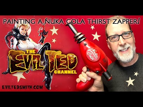 Painting the Nuka Cola Thrist Zapper