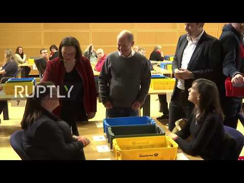 Germany: Vote count underway as SPD decides on grand coalition bid
