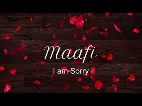 MAAFI   I am Sorry    Amit Singh    Shagird777 (Tanushree Rana)    Kacche Kalaka