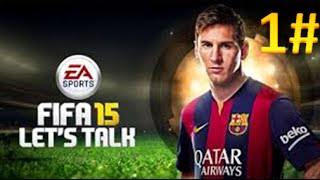 FIFA 15-Sorozat/1/- Argentina-Brazilia, Full Match