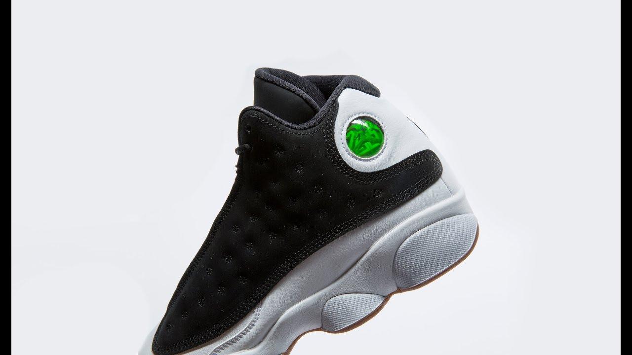 25b901c0 FIRST LOOK: Air Jordan 13 'Black/Gum'' | SHIEKH - YouTube
