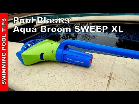 Pool Blaster Aqua Broom Sweep Xl Review And Set Up Video Youtube