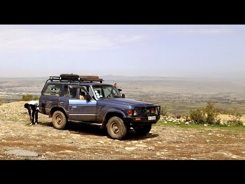 Expedition to the Danakil Depression, road from Mek'ele to Berhale